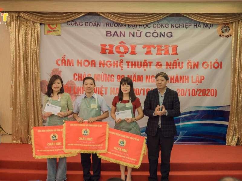 Hoạt động nữ công chào mừng kỷ niệm 90 năm thành lập Hội liên hiệp Phụ nữ Việt Nam 20/10/2020