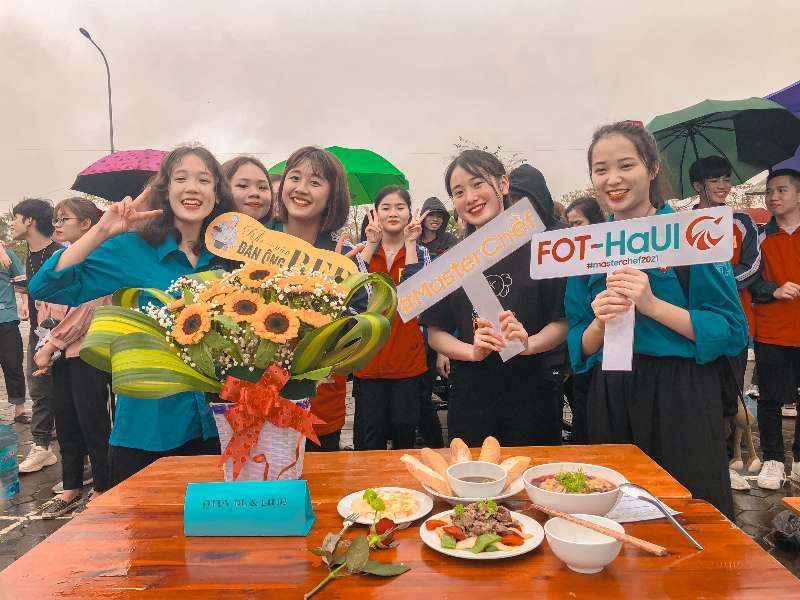 Chi đoàn lớp ĐH Du lịch 2 K15 đạt giải nhất trong cuộc thi nấu ăn Masterchef 2021